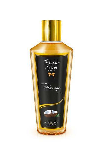Huile massage sèche noix de coco 250ml Plaisirs secrets