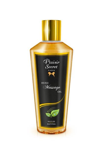 Huile massage sèche nature 250ml Plaisirs secrets