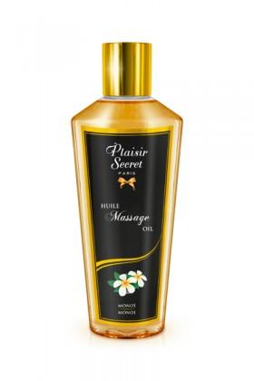 Huile massage sèche monoï  250ml Plaisirs secrets