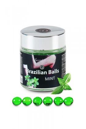 6 BRAZILIAN BALLS FLAVOR MINT Brazilian