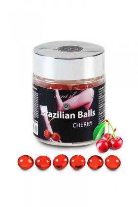 6 BRAZILIAN BALLS CHERRY Brazilian