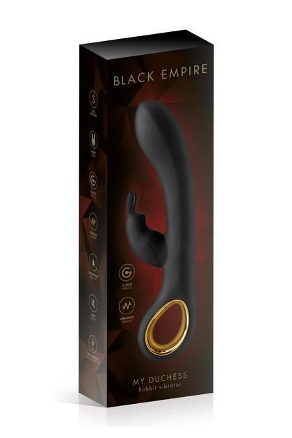 Vibrator rabbit My Duchess Black Empire USB