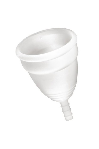 Coupe menstruelle taille S Blanche Yoba Nature