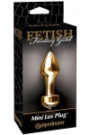 Gode anal Luv Plug Fetish Fantasy Gold
