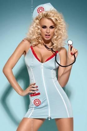 Doctor dress + stethoscope Obsessive