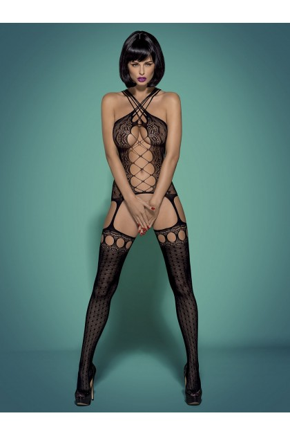 G313 Bodystocking - Noir