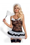 Housemaid Costume - Black & White