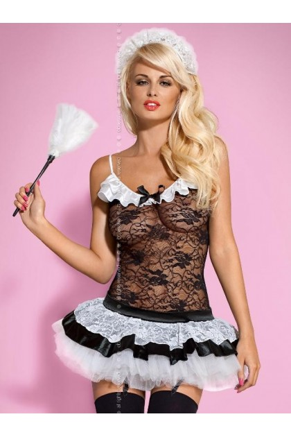 Housemaid Costume - Black & White