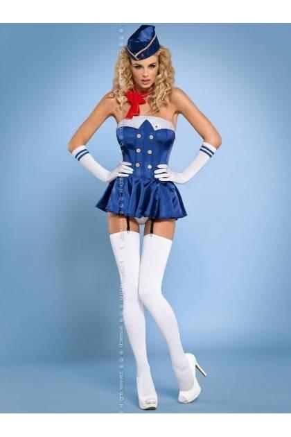 Stewardess corset Obsessive - 2