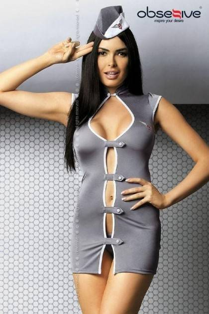 Stewardess dress Obsessive - 1