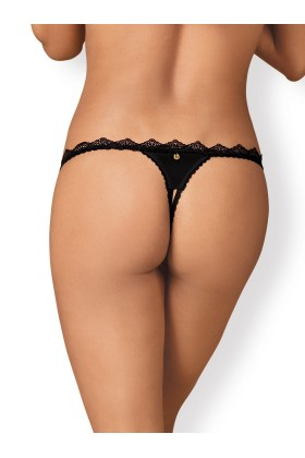 Lolitte String open - Black