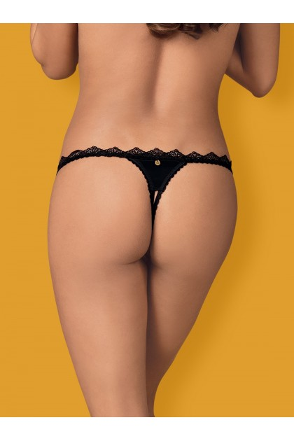 Lolitte String open - Black