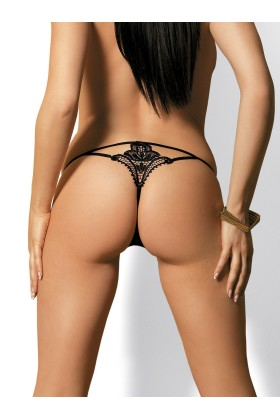 Luiza Thong - Black