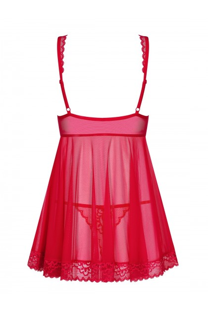 Rougebelle Babydoll - Red