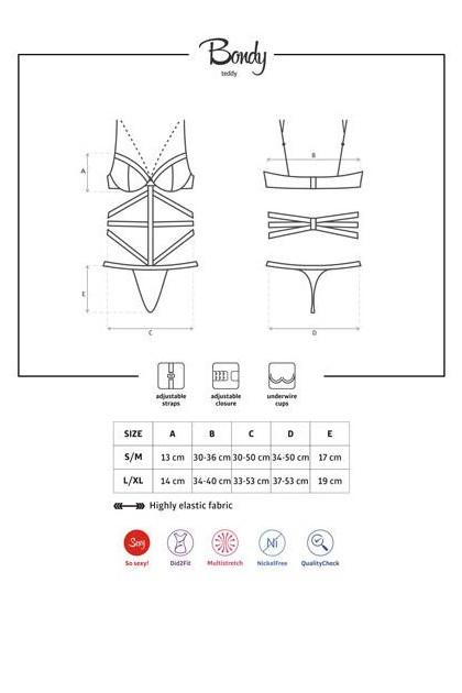 Body string dénudé armatures Bondy