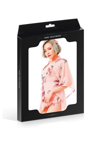 Pink Geisha Kimono