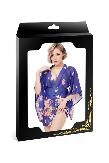 Kimono bleu Geisha