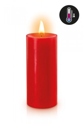Black low temperature candle