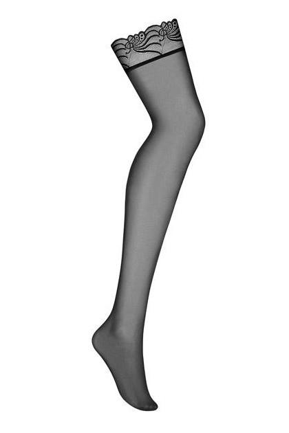 Bas nylon noirs 828-STO-1
