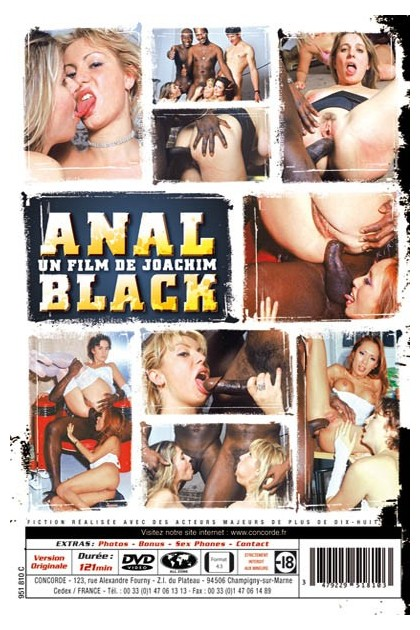 ANAL BLACK - DVD